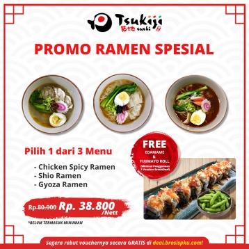 Tsukiji Sushi Ramen Special Deal