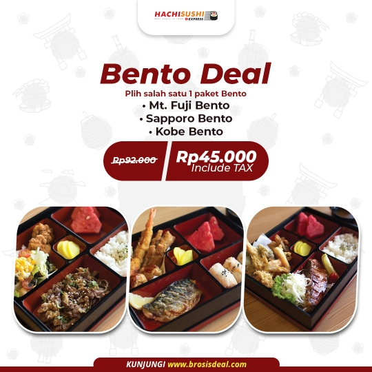Hachi Sushi Express Bento Deal