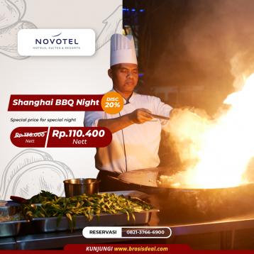 Novotel Shanghai Bbq Night Deal (saturday Only)