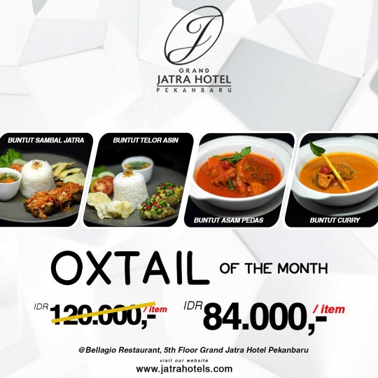Jatra Oxtail Of The Month Deal