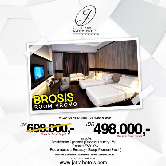 Grand Jatra Hotel Brosis Room Deal