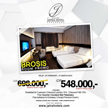 Grand Jatra Hotel Brosis Room Deal