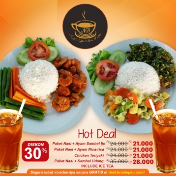 Nicks Coffee Resto Hot Deal
