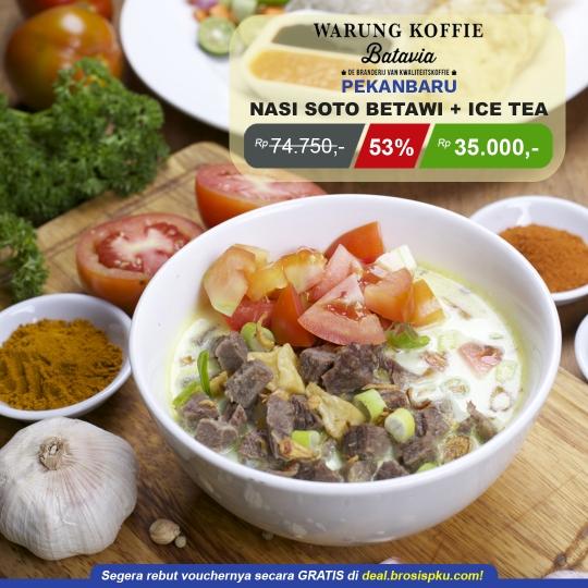 Warung Koffie Batavia Mal Pekanbaru Deal