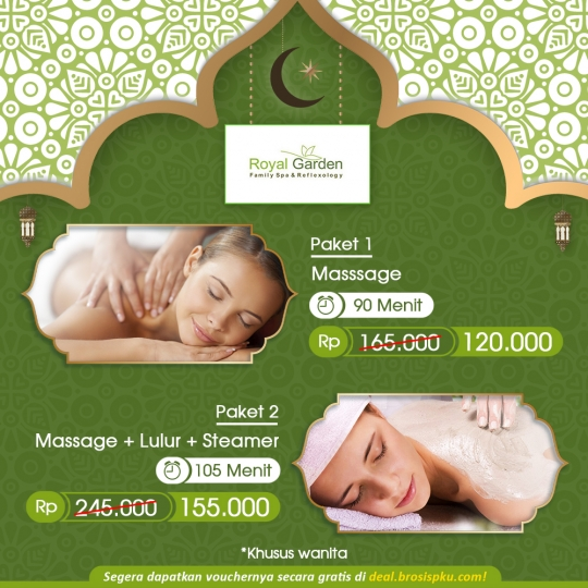 Royal Garden Family Spa Ramadhan Deal