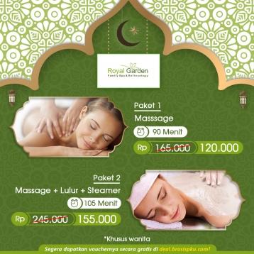 Royal Garden Family Spa Ramadhan Deal