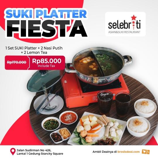 Selebriti Resto Suki Platter Fiesta Berdua