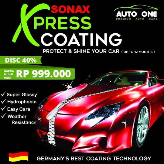 Auto One Sonax Xpress Coating Deal