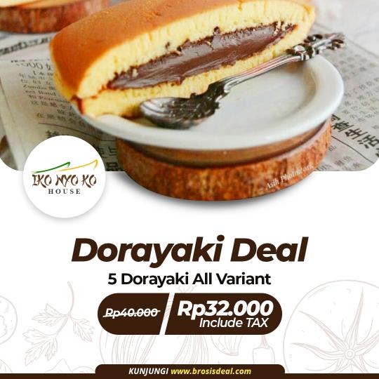 Ikonyo Dorayaki Deal