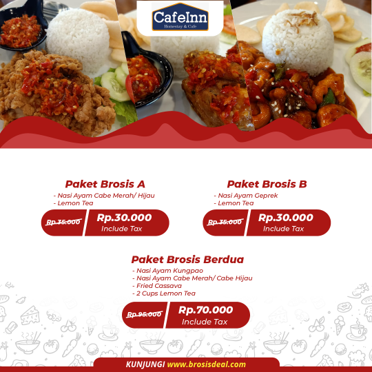 Cafeinn Homestay & Cafe Brosis Deal