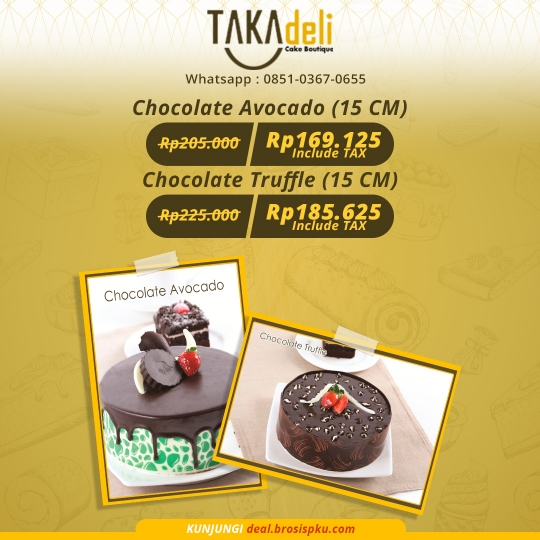 Takadeli Chocolate Cake Deal