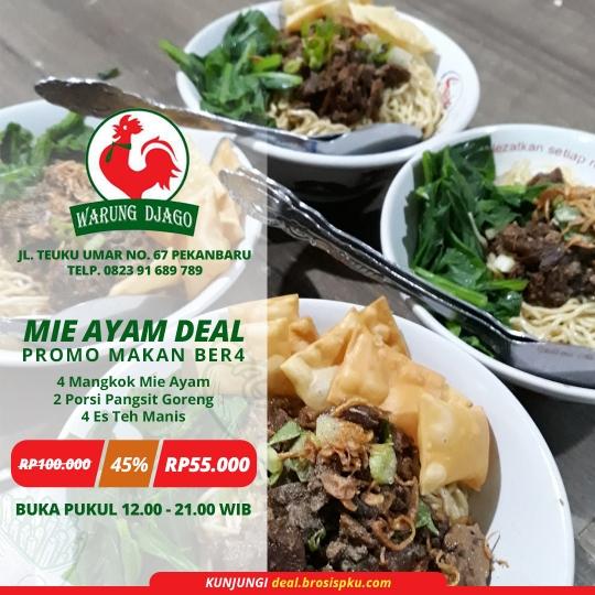Warung Djago Mie Ayam Deal