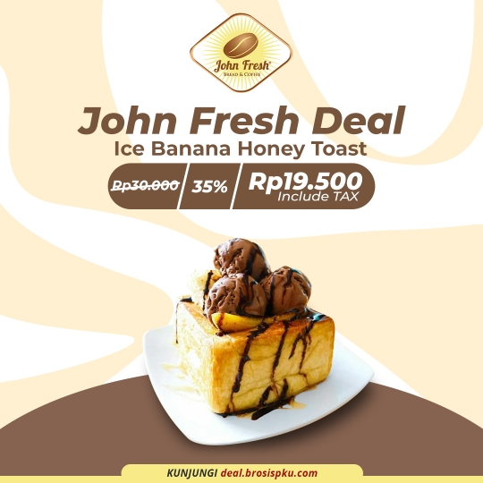 John Fresh Ice Banana Honey Toast Deal