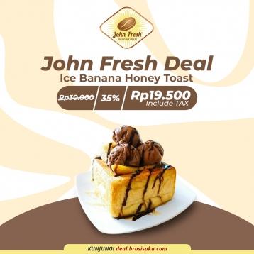 John Fresh Ice Banana Honey Toast Deal