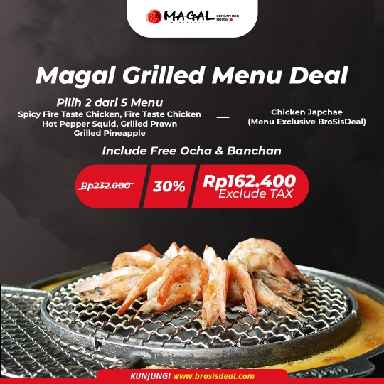 Magal Grilled Deal (monday-friday)