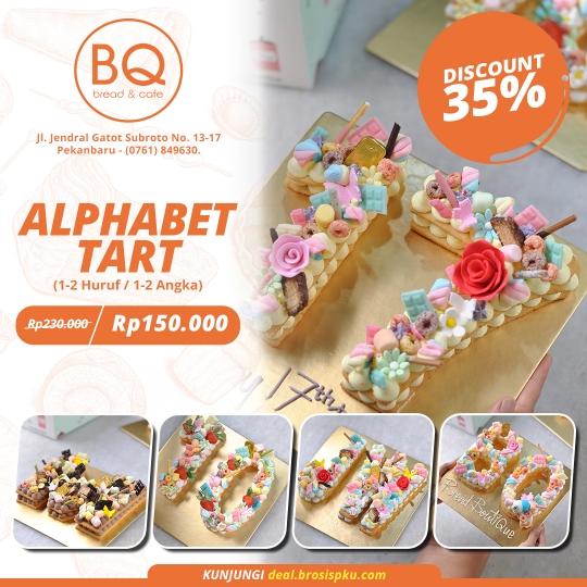 Bread Boutique Alphabet Tart Deal