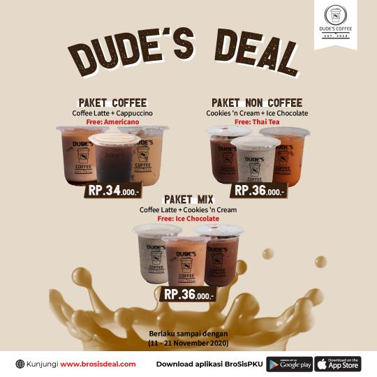 Dudes Coffee Deal