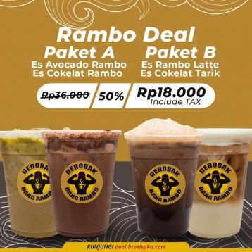 Gerobak Bang Rambo Deal