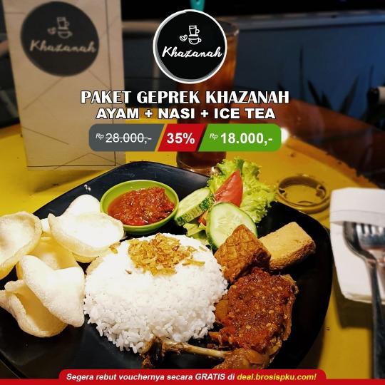 Khazanah Cafe Geprek Deal