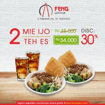 Feng Kopitiam Mie Ijo Deal