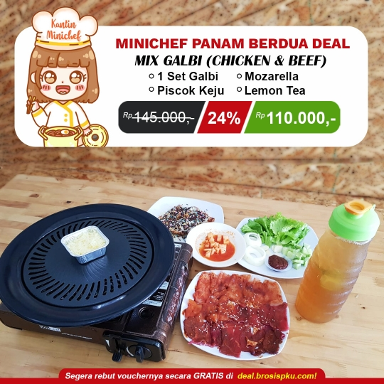 Kantin Minichef Mix Galbi Deal