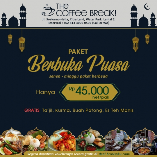 The Coffee Break Ramadhan Deal