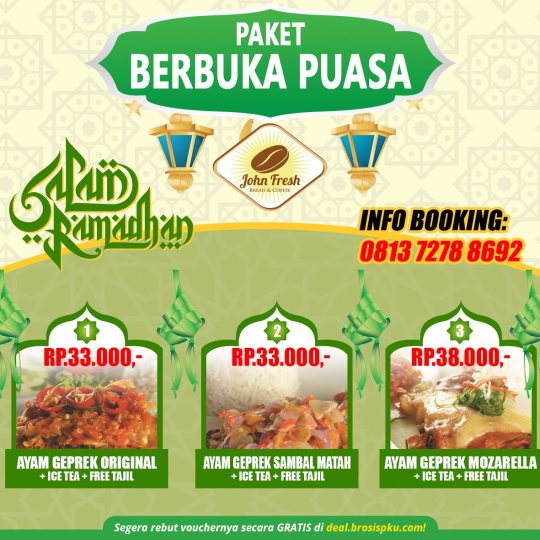 John Fresh Ramadhan Deal