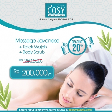 Simply Cosy Spa Ramadhan Deal (monday - Friday)