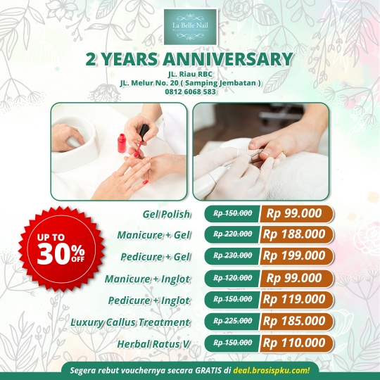Labelle Nail 2nd Anniversary Deal