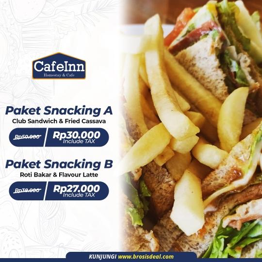Cafeinn Homestay & Cafe Snacking Deal