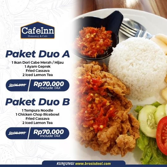 Cafeinn Homestay & Cafe Duo Deal