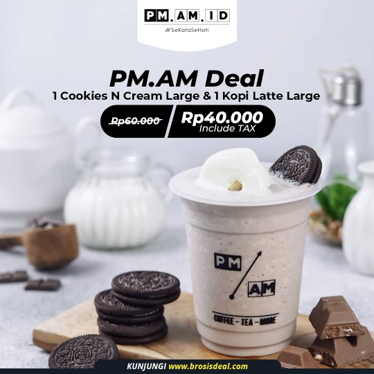 Pm.am.id Drink Deal