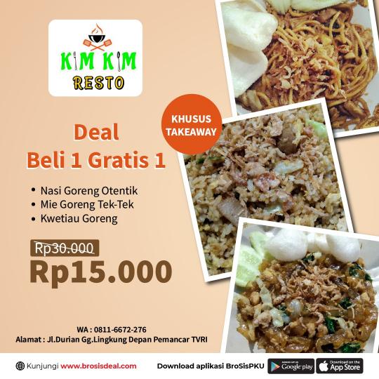 Kim Kim Resto Deal (takeaway Only)
