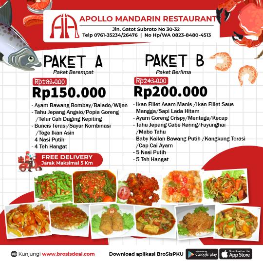 Apollo Restaurant Deal