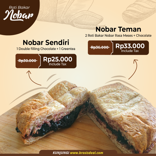 Roti Bakar Nobar Deal