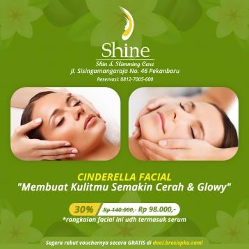 Shine Clinic Cinderella Facial Deal