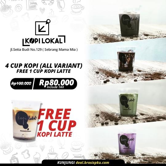 Kopi Lokal 4+1 Deal