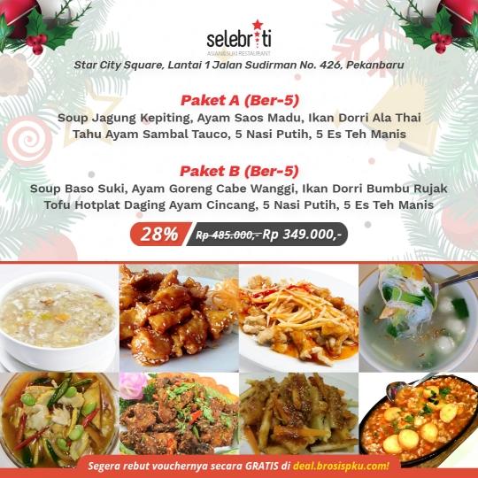 Selebriti Resto Natal & Tahun Baru Deal