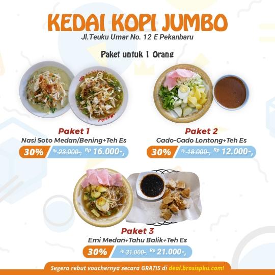 Jumbo Kopitiam Deal