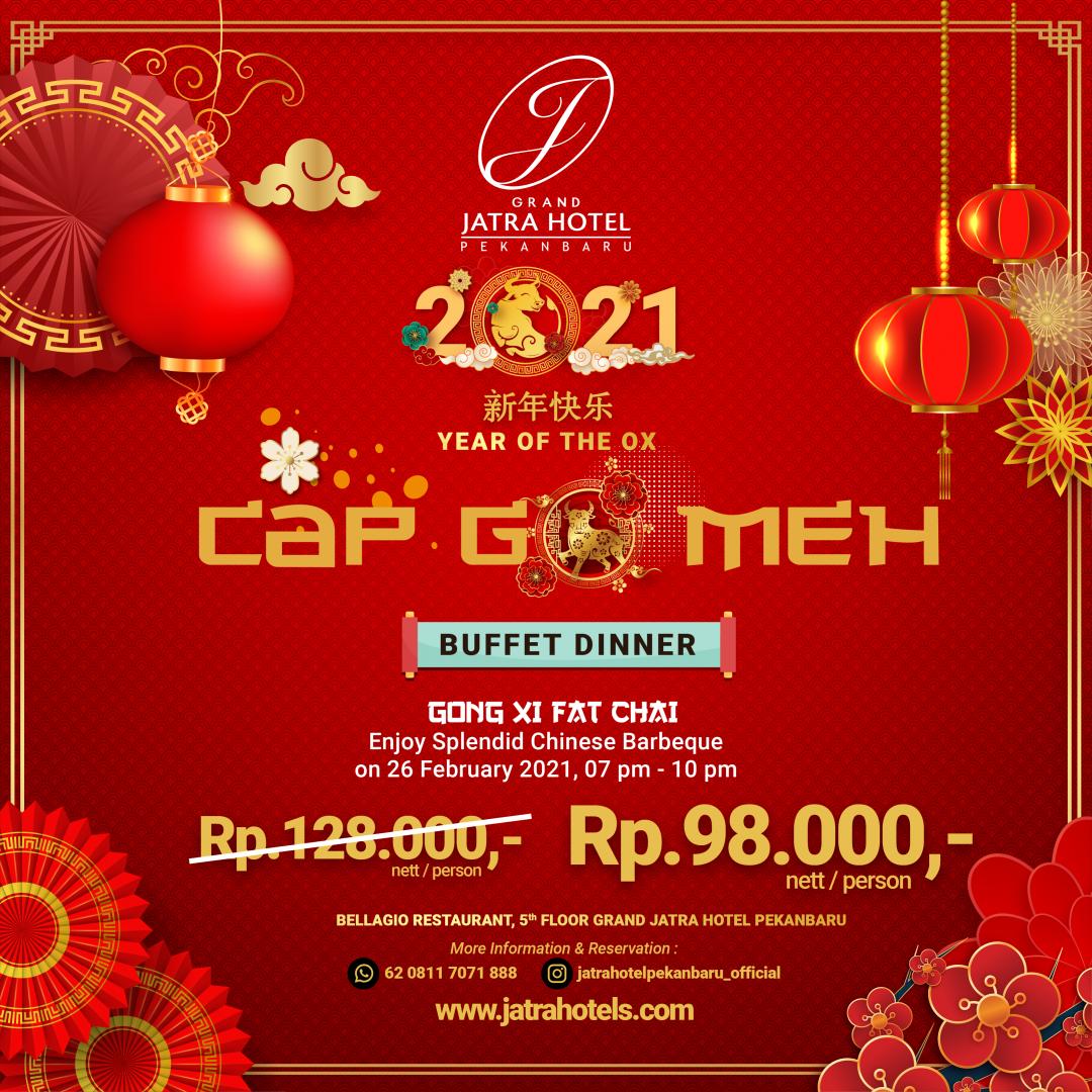 Jatra Cap Go Meh Festival Buffet Dinner Deal