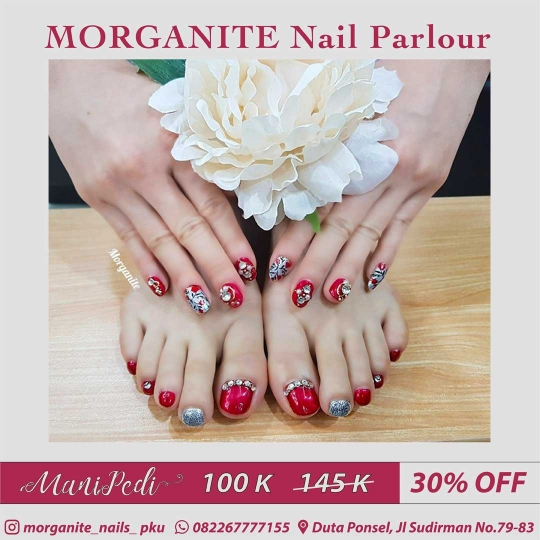 Morganite Manipedi Deal