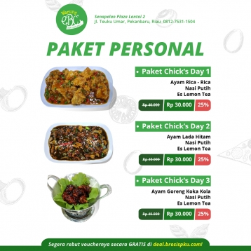 Warung Ebc Paket Personal Deal