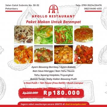 Apollo Restaurant Berempat Deal