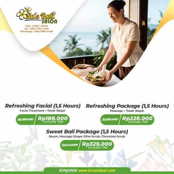 Sae Bali Salon Massage Deal