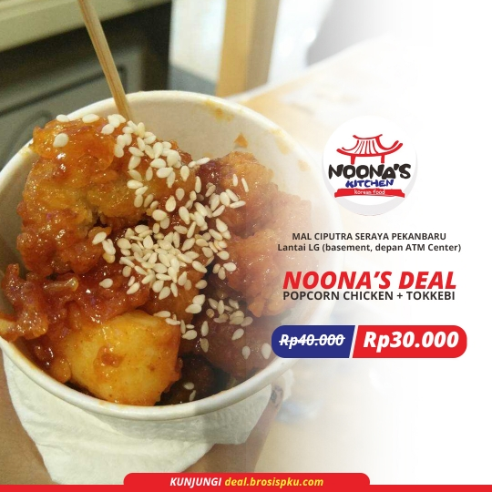 Noona Kitchen Korean Food Deal