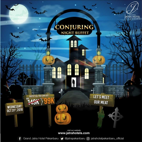 Jatra Conjuring Night Buffet Deal (wednesday Only)