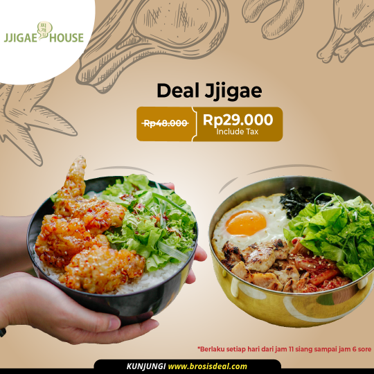 Jjigae House Brosis Deal