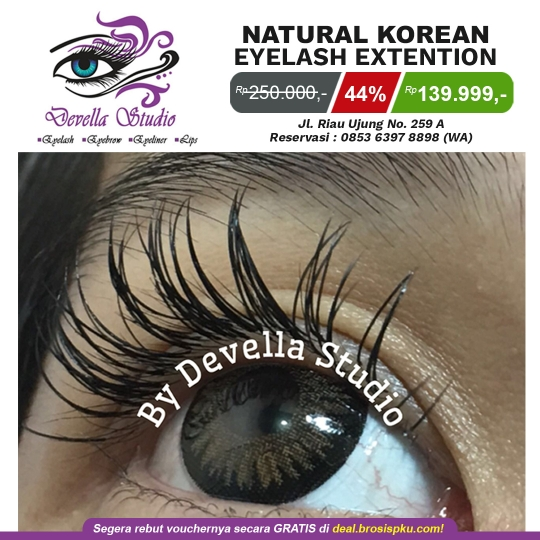 Devella Studio Korean Eyelash Deal