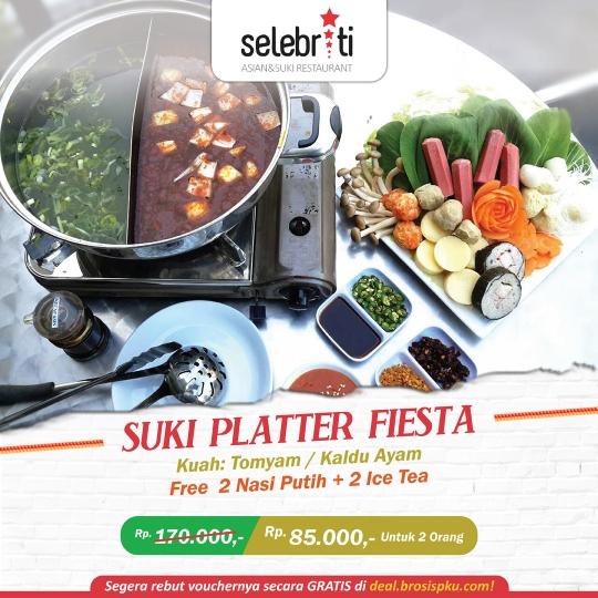 Selebriti Resto Suki Platter Fiesta