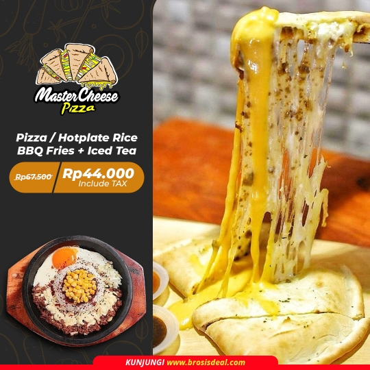 Master Cheese Pizza Deal